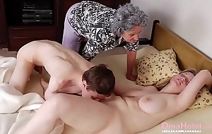 OmaHoteL Grannies Plus Adult Toys Compilation