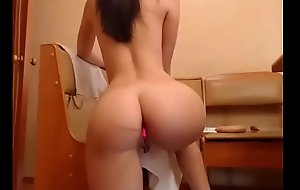 Sexy amateur akin her super nice ass on cam