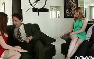 Sexy Swinger Allision Moore Is Fucked by a Longing Dicked Guy While Another Prepare oneself
