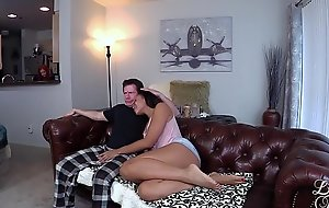 Miss Lonelyhearts FUCKER! Adriana Maya fucks older man. Interracial Taboo