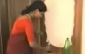 peppery saree son removing attire and enjoying with young guy.3GP