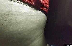 Copulate culona en leggins