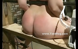 Slut up heavy bowels in bdsm fetish sex