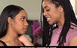Two Black Teen Lesbians Height